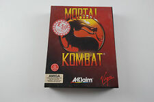 Mortal Kombat A Virgin Game for the Commodore Amiga Computer tested & working