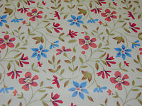 NEW VINTAGE STYLE FLORAL VINYL COVER ROLL FILM STICKY BACK PLASTIC 1.2M SIL B&PF