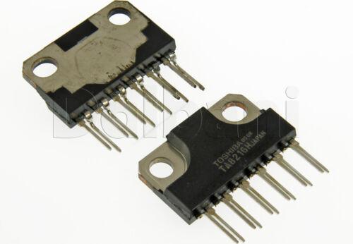 TA8216H Original New Toshiba Dual Audio Power Integrated IC Replaces NTE7068