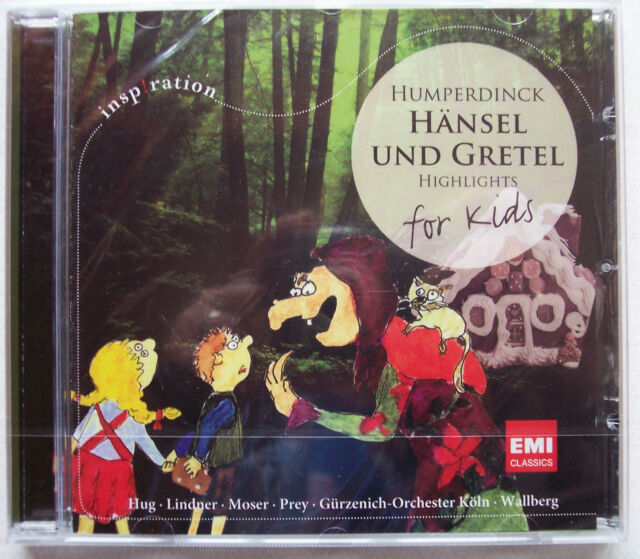 NEU CD Hänsel & Gretel for Kids Humperdinck Weihnachten Märchen Oper Kinderoper