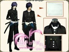 Gekijouban Hakuouki Hajime Saito uniform cosplay costume