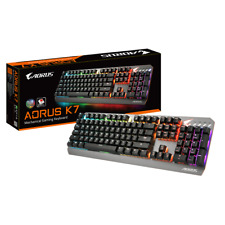71142762dce GIGABYTE AORUS K7 Mechanical Gaming Keyboard Cherry MX Red RGB Color Fusion  USB