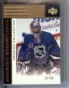 Patrick-Roy-2002-03-UD-Premier-Signatures-Gold-Auto-Avs-All-Star-AS-PR-21-50