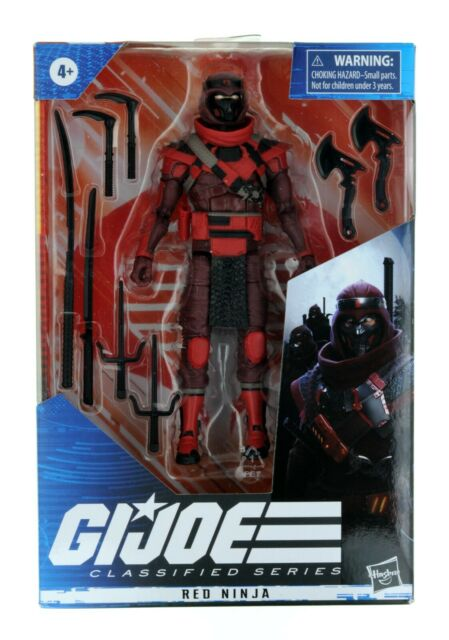2020 Hasbro GI Joe Classified Series Cobra Red Ninja #08 IN HAND