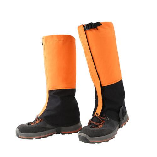 1 Pair Adult Outdoor Hiking Hunting Snow Snake Waterproof Boots Legging Gaiters