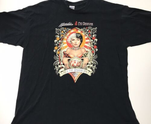 Pat Benatar & Blondie CALL ME INVINCIBLE T-Shirt 2