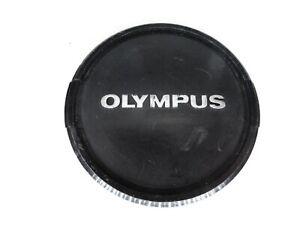 Olympus-55mm-Black-Silver-Front-Camera-Lens-Cap-for-OM