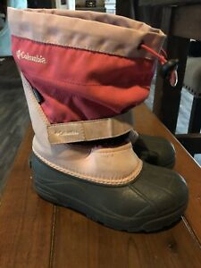 Columbia Winter Boots Size 2 Girls