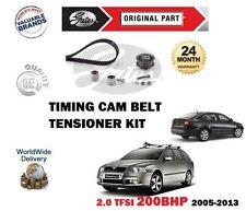 Para SKODA OCTAVIA 2.0 RS TFSI 200BHP 2005-2013 Nuevo Cam Kit Tensor Correa de distribución