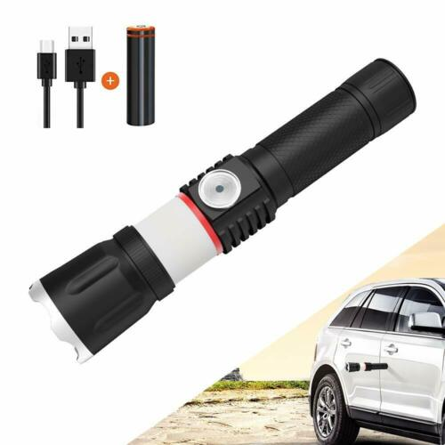 4000 Lumen P70 4 Modi LED Taschenlampe T6 COB Wiederaufladbar Taschenlampe DE