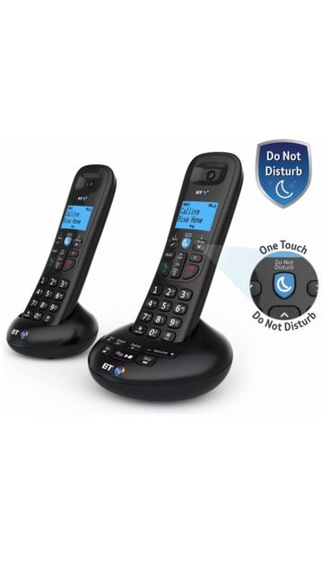 BT 3570 Twin Cordless Telephone with Digital Answer Machine Speaker & Caller ID*