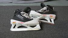Used Bauer Supreme Pro Stock Ice Hockey Goalie Skates Size 10.5 D/A Flyers