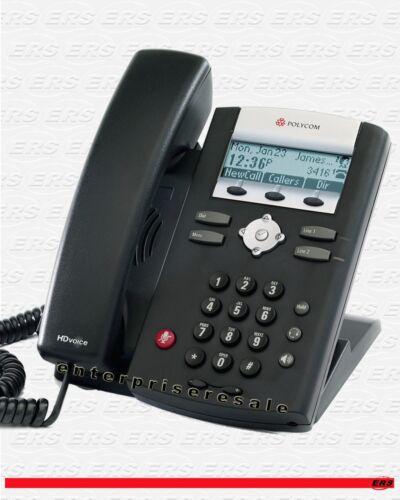 Polycom SoundPoint IP 335 Phone POE IP335 2201-12375-025 Reduced Price