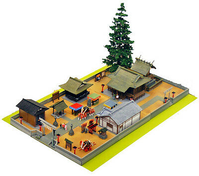 Tomytec (Building 139) Japanese Shrine 3 Full Set  1/150 N scale