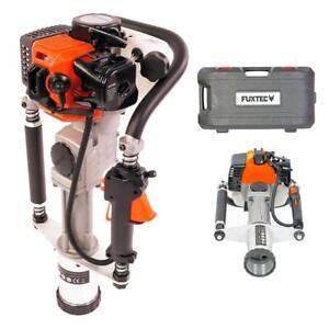 FUXTEC-FX-PR165-Handramme-Pfosten-Ramme-Pfahlramme-Gartenarbeit-Zaunpfahlramme