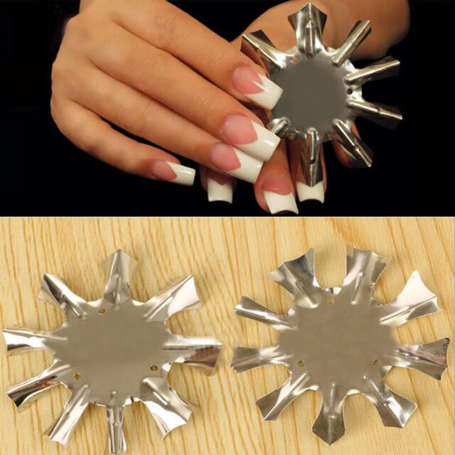 Nail Art French Line Edge Clipper Trimmer Stencil Template  Tools