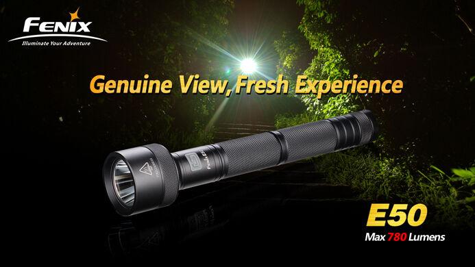 New Fenix E50 Cree XM-L T6 LED 780 Lumens Flashlight   Torch