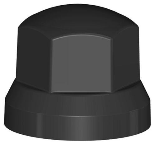 40x Radmutterkappen Radmutterabdeckung NN 33 mm schwarz Lkw Radkappenabdeckung