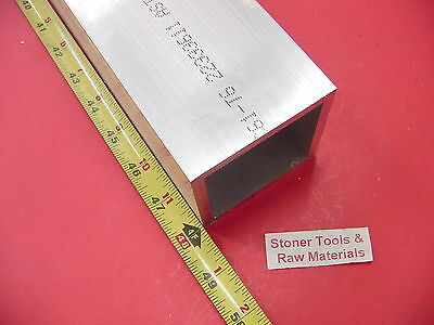 "3/"" x 36/""-long x 1//4/"" Wall 6061 T6 Aluminum Square Tube--/>3/"" x .250/"" wall"