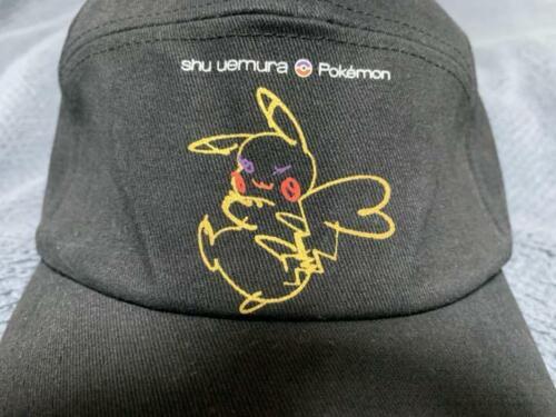 Shu Uemura x Pikachu Cap Hat Limited Edition shuuemura Pokemon Collaboration