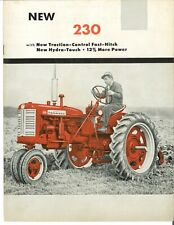 Ih Mccormick Farmall 230 With Fast Hitch Tractor Amp Implement Color Brochure