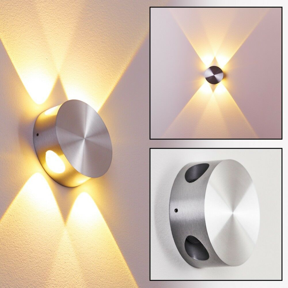 Led wall light 4 x 1 Watt design sconce lamp IP 54 decor spot lighting 115067