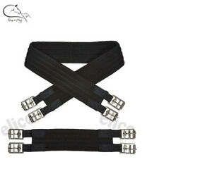 Cotton-Padded-Girth-BLACK-16-034-22-034-sizes-for-Mini-Shetland-Pony-FREE-DELIVERY