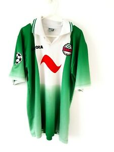 Rapid-Vienna-Home-Shirt-1996-Medium-Green-Adults-Short-Sleeves-Football-Top-On