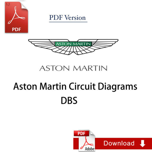 Factory Aston Martin Dbs Circuit Diagrams Manual