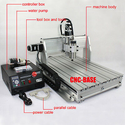 CNC Router 6040 1500W spindle cnc engraver engraving milling drilling machine