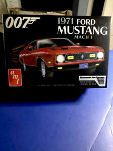 amt '1971 FORD MUSTANG MACH 1 JAMES BOND 007'MOVIE VEHICLE1/25Scale F/S New 2020