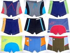 Junior Boys' Swim Trunks Boxer Brief Bathing Suit Swimwear Swimsuit Square Leg
