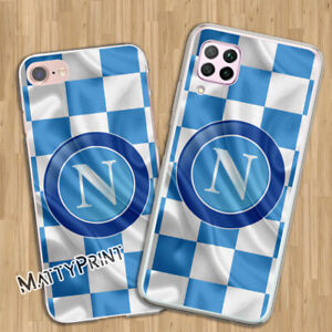 Cover personalizzata Napoli calcio ultras azzurri custodia Smartphone cellulare