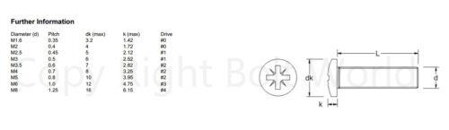 GOODMANS LCD /& PLASMA TV SCREEN VESA WALL MOUNTING BRACKET SCREWS M4,M5,M6,M8