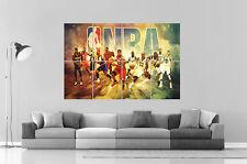 NBA stelle Poster A0 Larghezza Stampa