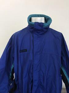 Detalles de Vintage Color bloque Columbia Bugaboo manga larga cremallera completa de chaqueta para hombre L ver título original