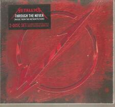 "METALLICA ""THROUGH THE NEVER (Music from the Motion Picture)"" 2cd SEALED DIGI"