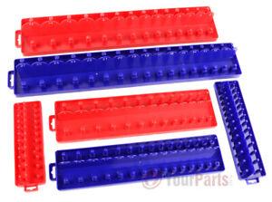 1-4-034-3-8-034-1-2-034-Drive-SAE-Metric-Socket-Tray-Holders-Tool-Organizer-Single-or-Set