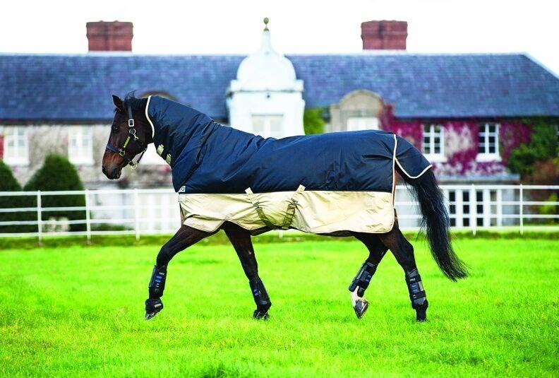 Horseware milioni di TUTTO IN IN IN UNO COLLO Heavyweight 350 affluenza alle urne Cavallo Tappeto Coperta e08ddd