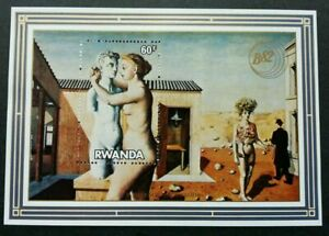 SJ-Rwanda-Painting-Arts-Culture-Drawing-miniature-sheet-MNH