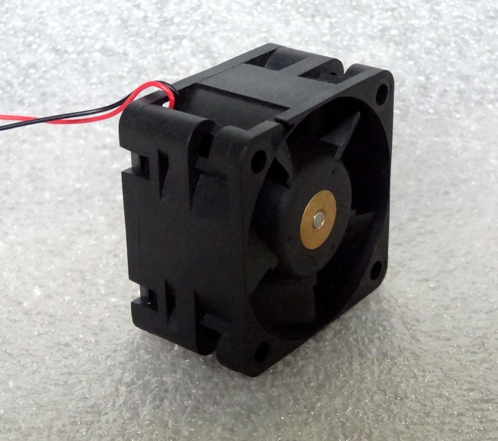 Sunon 40mm x 24mm Débit D'air Elevé 12v Ventilateur 17.5 CFM 2 Boule Bare Câbles