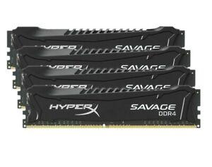 4x8GB-32GB-2400MHz-DDR4-Desktop-For-HyperX-Savage-PC4-19200-DIMM-RAM-ARMG