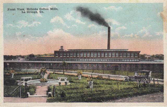 LA GRANGE , Georgia, 1923 ; Hillside Cotton Mills | eBay