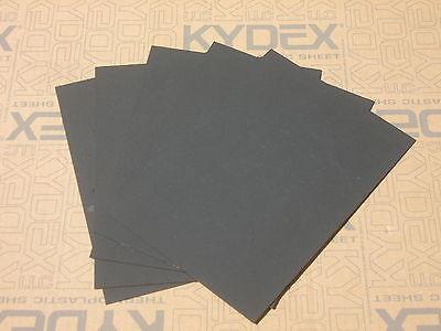 7 Pack 1.5 mm A4 KYDEX T Sheet 297 X 210 3 Black 2 Olive 2 Grey,Holster-Sheath.