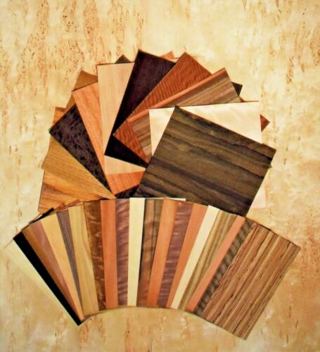 Wood Veneer variety pack 20 Sq.ft With 30 to 40 pieces 6