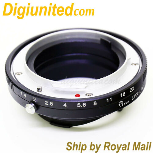 Contarex CRX mount lens to Leica M L//M mount adapter M9 M6 M7 M8 M10 M-E M-240
