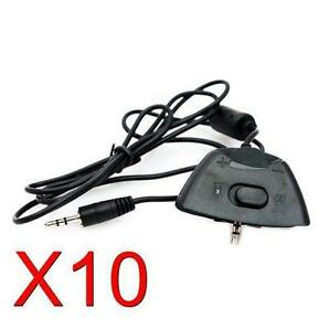 Third Party Publishing Xbox 360 Headset Adapter Headset