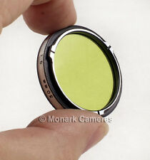 Yashica G1 Green Filter B1 Bayonet Fit. NEW. 124G Rolleicord Rolleiflex Autocord