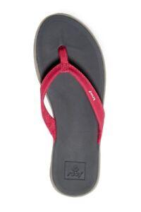 113951019a71 Reef 11 Women s Rover Catch Pink Gray Beach Sandal Summer Flip-Flops ...