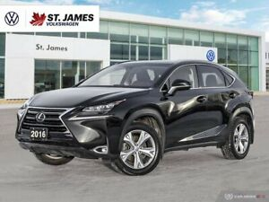 2016 Lexus NX 200t Push to Start, Backup Camera, Power Sunroof With Navigation